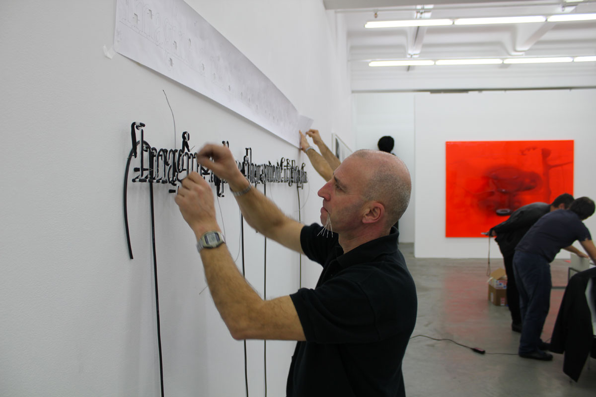 Installation at Acca Gallery, Melbourne, 2010.